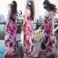 Sevy Sweet Summer Vacation Pink Beach Maxi Dress thumbnail 7