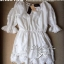 Lady Ribbon's Made Lady White Abby, Floral Off-shoulder Mini dress thumbnail 6