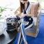 Lady Ribbon's Made Lady Jaime Sleeveless Bow Top and Skinny Striped Pants Set thumbnail 4