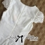 Lady Ribbon's Made Lady Pure White Blossom Embroidery Gala Mini Dress thumbnail 9
