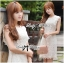 Lady Ribbon's Made Lady Jessica Classic Lace Dress in Ivory thumbnail 7