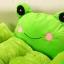 (พร้อมส่ง) ที่นอนสุนัข เบาะแฟนซีกบเขียว แถมฟรีหมอนมีเสียง thumbnail 2