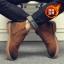 พร้อมส่ง รองเท้าบูทผู้ชาย สีน้ำตาล บุขน มีซิปด้านข้าง รองเท้าบูทหนัง แบบร้อยเชือก ใส่ง่าย ใส่ลุยหิมะ ใส่กันหนาว thumbnail 1