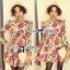 Lady Ribbon's Made Lady Jida Nasty Floral Mini Dress thumbnail 1