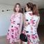 Dress เนื้อผ้านิ่มสวยเว่อร์ ภาพลายพิมพ์คมชัด thumbnail 5