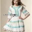 Lady Florence Hippie Chic Floral Embroidered Layered Dress thumbnail 4