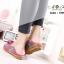รองเท้าเพื่อสุขภาพ ทำจากหนังนิ่ม พื้นยางพาราแท้ บิดหักงอได้ เย็บตะเข็บไว้ด้านนอก thumbnail 7