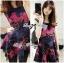 Lady Colourful Embroidered Mini Dress thumbnail 4