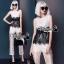 Black&white lace jumpsuit thumbnail 8