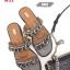 รองเท้าแตะแต่งอะไหล่โซ่ด้านหน้า thumbnail 4