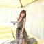 Cliona made' Lucy Charming Grey Summer Beach Long Dress thumbnail 1