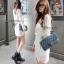 Cliona Made ,White Lace See Through Mini dress thumbnail 1