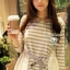 So Cute Stripy T- Shirt by Seoul Secret thumbnail 4