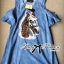 Lady Ribbon's Made Lady Alexa Sequin Horse Cut-out Denim Dress thumbnail 7