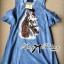 Lady Ribbon's Made Lady Alexa Sequin Horse Cut-out Denim Dress thumbnail 7