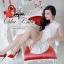 Elegant white lace dress thumbnail 1