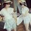 Lady Ribbon's Made Abigail Pretty and Sexy White Lace Mini Dress thumbnail 8
