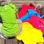 เสื้อโปโลสุนัข สีชมพูสด (พร้อมส่ง) thumbnail 3