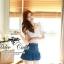 언발 나시블라우스 Angel wing blouse and denim short&#x2605 &#x2661Odee&Cutie Daily Fashion 2014&#x2661 thumbnail 4