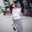 Cliona made' Korean Summer Shirt + Beeline Skirt Set thumbnail 3