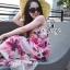 Sevy Sweet Summer Vacation Pink Beach Maxi Dress thumbnail 10