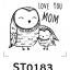 Cartoon Stamp - รูปการ์ตูนน่ารัก 002 thumbnail 1