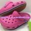 รองเท้า crocs retro clog รุ่นเรโทร สีชมพูเข้ม thumbnail 1