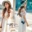 Lady Ribbon's Made Lady Ribbon White Floral Embellish Lace Maxi thumbnail 4
