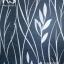 วอลเปเปอร์ลายใบไม้กิ่งไม้สีเงินพื้นสีน้ำเงิน DAZ-D01 thumbnail 1