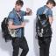 Pre-Order กระเป๋าแฟชั่นผู้ชาย กระเป๋าเป้ MCYS&JPN สีดำ จุของได้เยอะ ใส่ iPad ได้ ใส่โน้ตบุคได้ สะพายสไตล์เท่ห์ แบบ backpack thumbnail 2