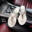 รองเท้าแตะหูคีบ style brand YSL หนังลายงูสวยมาก thumbnail 4