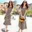 Sevy Arrow Stripes Maxi Dress thumbnail 6
