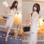Cliona Made,Ladies Chinese Modern Lace Dress thumbnail 1