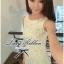 Lady Ribbon's Made Lady Lolita Sweet Sexy White V-back Lace Dress thumbnail 1