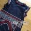 Lady Ribbon's Made Lady Kim Tribal Embroidered Cotton Dress thumbnail 9