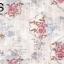 วอลเปเปอร์สไตล์วินเทจลายกรอบมีดอกกุหลาบสีม่วงอมทองพื้นม่วงอมขาว GAR3-B52W thumbnail 1