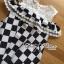 Lady Ribbon's Made Lady Isabella Smart Off-Shoulder Check Printed Cotton Dress thumbnail 8