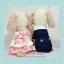 PRE เสื้อผ้าน้องหมา ชุดแต่งงานกระโปรงสีชมพูหวานมีโบว์หลัง thumbnail 1