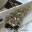 Lady Ribbon's Made Lady Chloe Insert Lace Embellished White Shirt Dress thumbnail 9