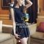 Classic Korea Style Black Jumpsuit by Seoul Secret thumbnail 4