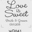 ตราปั๊มงานแต่ง WD041 thumbnail 1