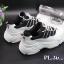 รองเท้าผ้าใบแฟชั่นทรง sport สไตล์แบรนด์ fila พื้นหนานุ่ม ใส่ดีมากกระชับเท้า thumbnail 3
