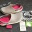 รองเท้า CROCS รุ่น LiteRide สีเทาพื้นชมพู thumbnail 2