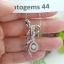 จี้+สร้อยเพชร Dancing Diamond หมายเลข P44 เพชรเม็ดกลาง 20 ตัง เพชรน.นรวม 56 ตัง ราคาพิเศษ 35,900 บาท 🎉🎉สนใจทัก https://line.me/R/ti/p/%40passiongems🎉🎉 thumbnail 1