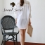 Smart Shirt Long Sleeve See Through Lace Furnish by Seoul Secret Material thumbnail 8