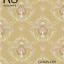 วอลเปเปอร์ ลายดอกไม้วินเทจ พื้นสีทองน้ำตาล No.PJ-H70 thumbnail 1