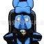 เบาะนิรภัยในรถยนต์แบบพับได้ Child Seat Safety สีฟ้า thumbnail 1