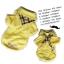 เสื้อน้องหมา เซ็ทเสื้อโปโลสีเหลืองและผ้าพันคอ พร้อมส่ง thumbnail 1