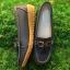 รองเท้าคัทชูเพื่อสุขภาพหนังนิ่มแต่งโบว์ด้านหน้า thumbnail 4