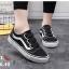 รองเท้าผ้าใบแฟชั่น style vans ติดเมจิกเทปสวมใส่ง่าย thumbnail 1